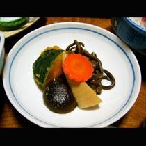 夕食の煮物(一例)