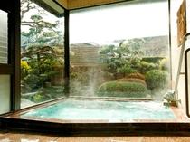 温泉(庭)