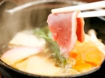 料理(カモ鍋)