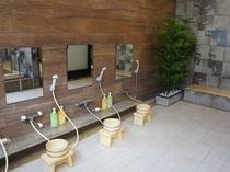 木風呂(シャワー)