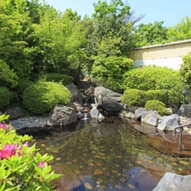 【風呂】春の露天風呂(イメージ)