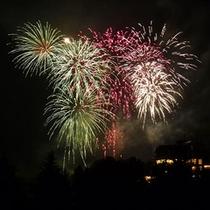 毎年恒例♪りんどう湖LAKE VIEW湖上花火大会(イメージ)