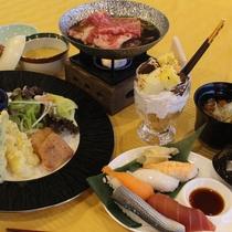 夕食日本料理キッズイメージ