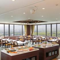 【夕食】最上階レストラン展望バイキング♪(イメージ)