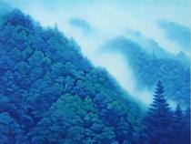 善光寺裏の長野県信濃美術館 東山魁夷館。絵に興味が無いのに思わず魅入ってしまいました。おすすめです。