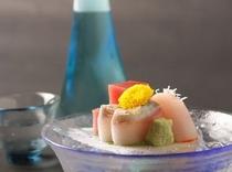 刺身+日本酒=日本人を味わう
