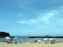 9. 徒歩30秒のビーチは7月1日が海開きです