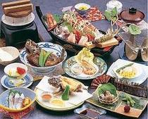4. 釜飯プラン料理(一例)