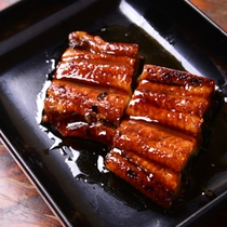 *お夕食一例(鰻の蒲焼)
