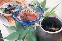 採れ立ての食材を使った小鉢料理も絶品