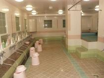 女性フロアの大浴場!
