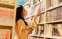 女性専用フロアの雑誌・漫画コーナーです☆