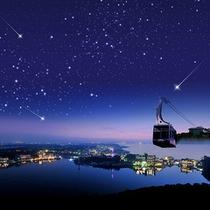【浜名湖 夜空の空中散歩】