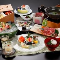 【雅コース】料理一例。