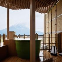 610 12露天風呂付富士山 露天風呂