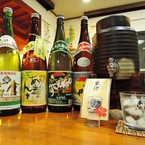 *黒糖焼酎の飲み放題(別途¥500)