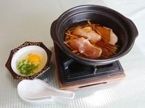 媛っこ地鶏の柳川風鍋
