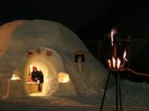 かまくら祭り 囲炉裏