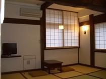 リニューアルされた客室