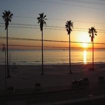 夕日 ゚・:*サンセットの一時