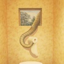 【館内にトリックアート】:4♪