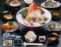 ベーシックプラン10500円の夕食一例