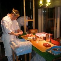 【アッと驚く日を演出したい方◎】■お寿司出張サービス/お部屋に屋台がっ!◆大人の贅沢デート◆