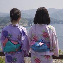 *遊歩道からは奇岩が作り出す西伊豆・堂ヶ島の海岸線を一望。