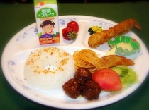 幼児向けの食事メニュー