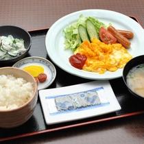 こだわり卵を使った和洋食