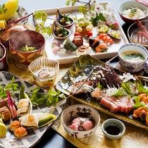 """◆プレミアム会席◆当館の料理人が""""味""""と""""技""""にこだわり抜いた【極上の会席】をご用意致します。"""
