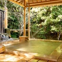 ◆特別室離れ_清流亭◆ 客室専用露天風呂