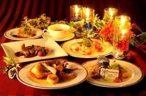 クリスマスディナー一例