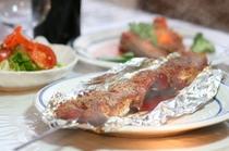 キンメと魚貝のホイル焼き