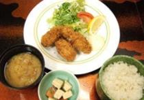 「牡蠣プラン」 ご夕食メニュー