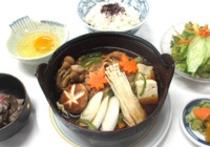 2015年10月11月A牛すき鍋定食