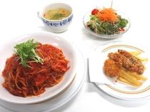2016年2月3月夕食B:トマトパスタ