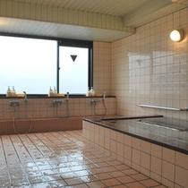 最上階にある女性浴場