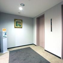 エレベータホール(客室フロア)