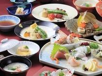 「日本料理 春日」料理長こだわりの品々