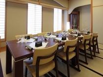 「日本料理 春日」個室もございます。