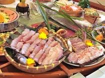 【夕食バイキング】当日水揚げされた、三河湾の新鮮な海の幸をすきなだけどうぞ♪