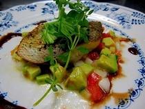 魚料理姫鯛