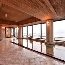 【展望ラジウム風呂】最上階10階にある展望風呂です♪