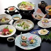 【和食】三河湾の海の幸を盛り込んだ旬の『和食会席』(一例)