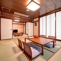 【9Fバリ風和室】バリ風に改装したリゾート感あふれるお部屋です。(客室一例)