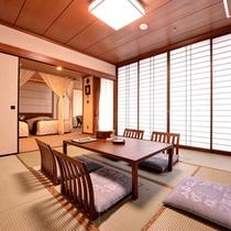 【9F禁煙バリ風和洋室】バリ風に改装したリゾート感あふれるお部屋です。(客室一例)