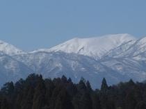 白銀の能郷白山