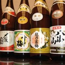 【地酒】酒どころ新潟ならではの地酒の中から、利き酒師が厳選した至極のお酒を種類豊富にご用意。