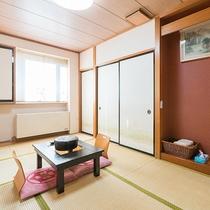 *【和室/7.5畳】最大3名様までご利用いただける、シンプルな和室のお部屋です。